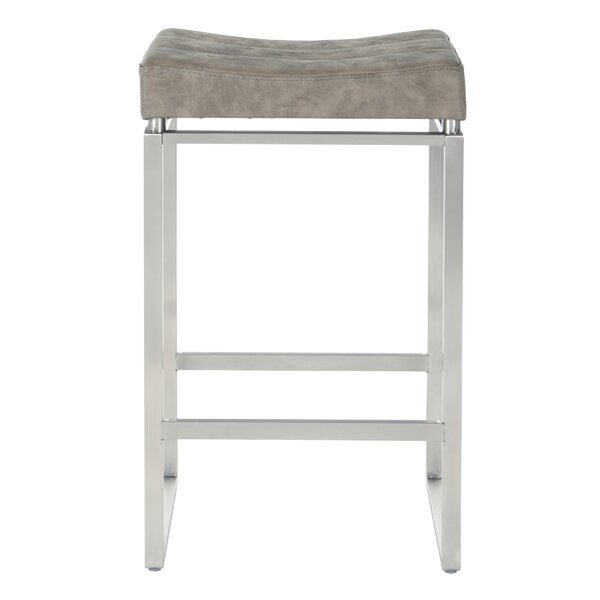 Vogt 27 Bar Stool (Set of 2) by Orren Ellis