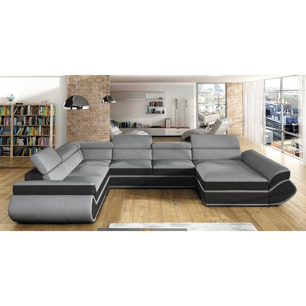 Lisson Sleeper Sectional by Orren Ellis