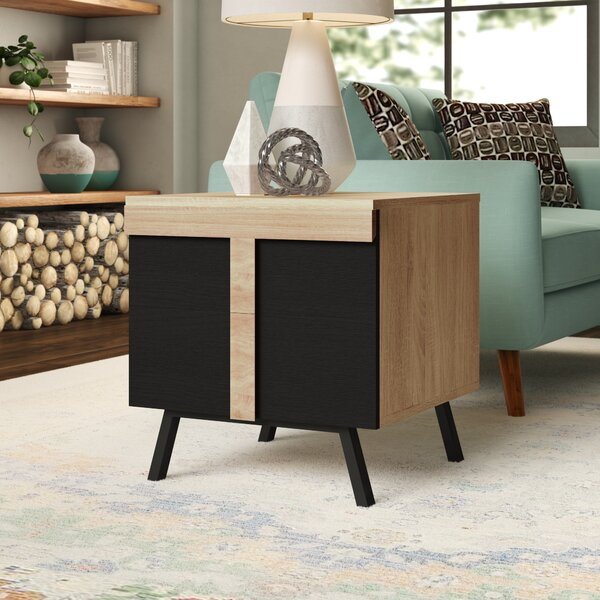 Ewert End Table with Storage by Ivy Bronx