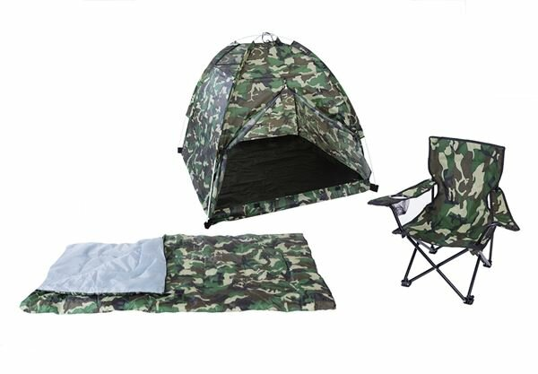 Camo 3 Piece Play Tent by Pacific Play Tents