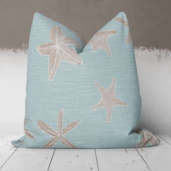 East Urban Home Haeckel Plate Throw Pillow Wayfair