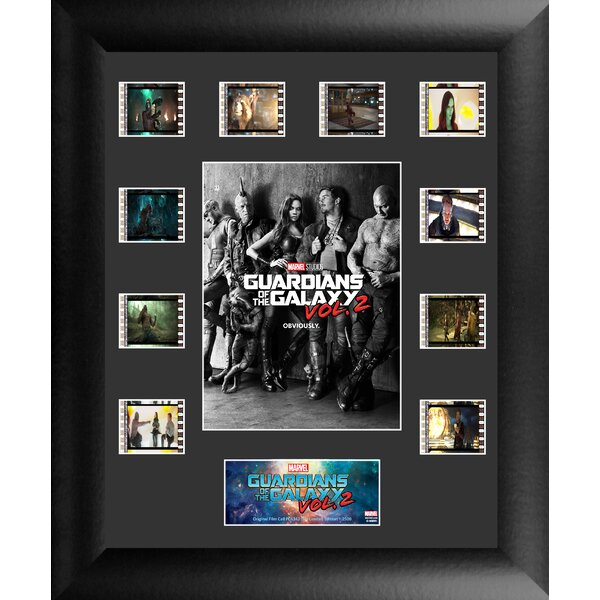Guardians of the Galaxy Vol 2 FilmCell Framed Photographic Print on Wood by Trend Setters