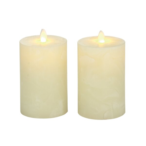2 Piece Flameless Candle Set by Cole & Grey