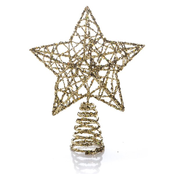 Desmond Small Wire Star Tree Topper by The Holiday Aisle