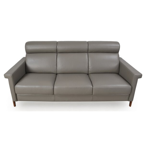 Fabulous Best 1 Whelchel Italian Leather Sofa By Brayden Studio 2019 Pabps2019 Chair Design Images Pabps2019Com