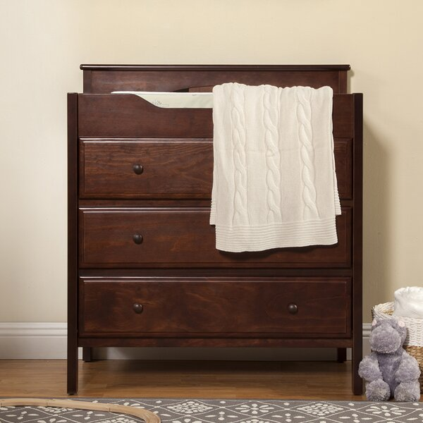 Jayden 3 Drawer Changing Dresser by DaVinci