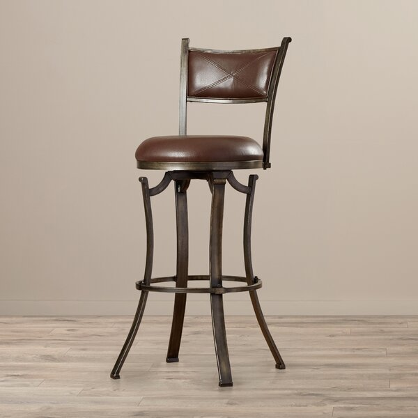 Chapawee 30 Swivel Bar Stool by World Menagerie