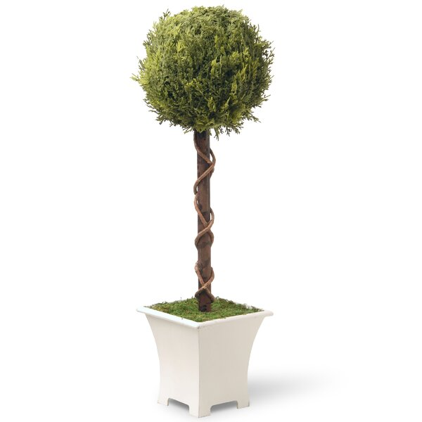 Spring Faux Topiary in Planter by National Tree Co.