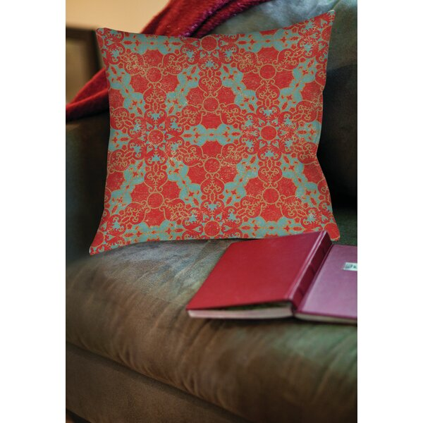 Kerrie Patterns 13 Printed Throw Pillow by Red Barrel Studio
