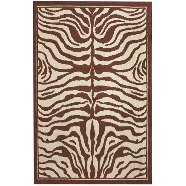 Safari Brown Area Rug by nuLOOM