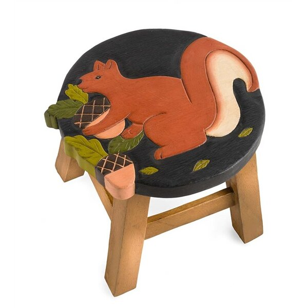 Squirrel Accent Stool by Plow & Hearth