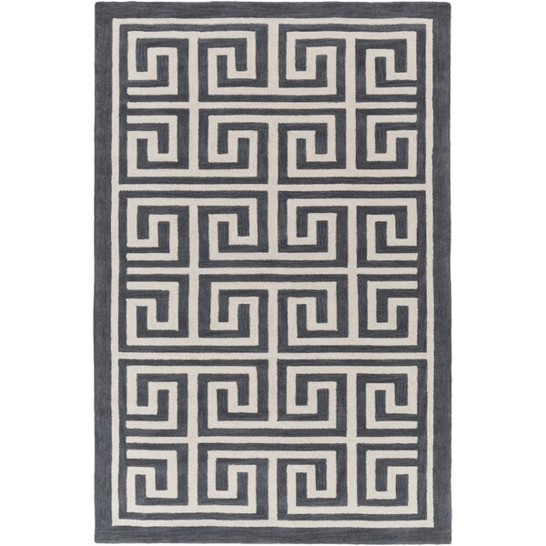Ortis Gray & Ivory Area Rug by Orren Ellis