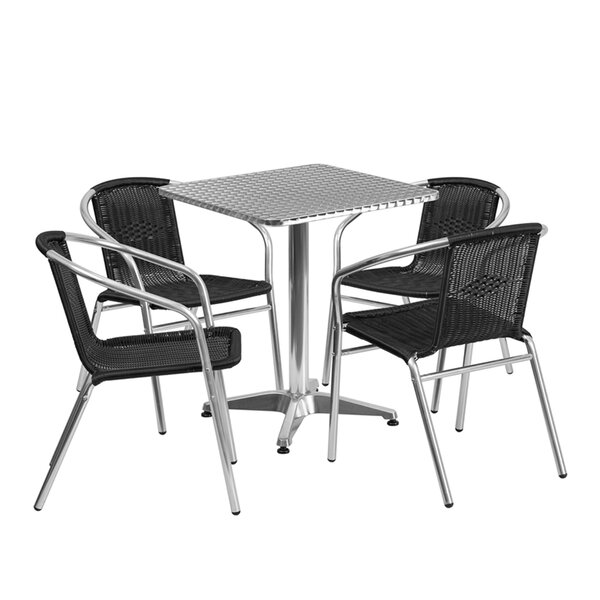 McKaylah 5 Piece Dining Set by Ebern Designs