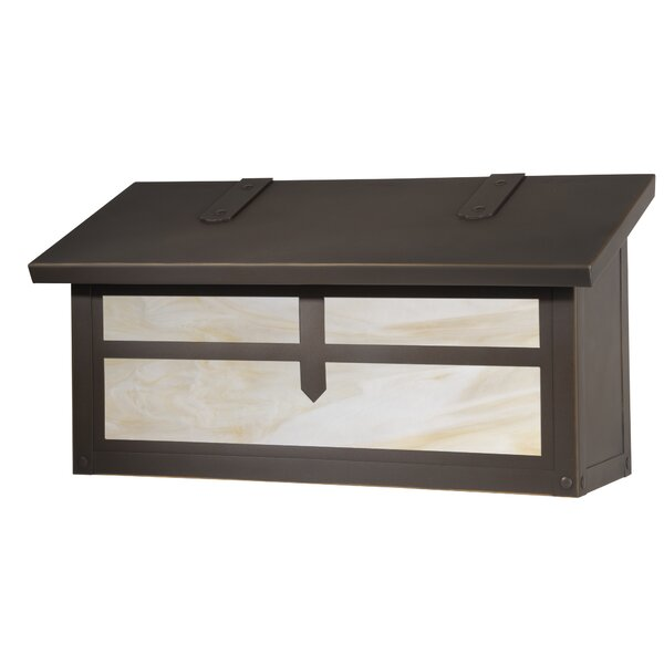Arrow Verical Locking Wall Mounted Mailbox by America's Finest Lighting Company