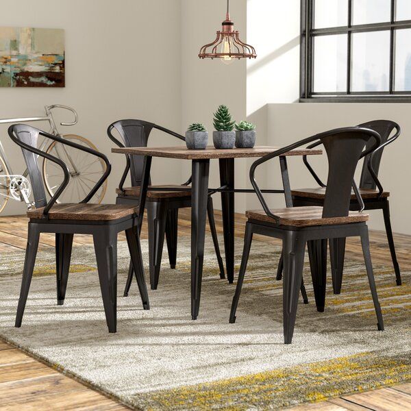 Dupuis Loft 5 Piece Dining Set by Trent Austin Design