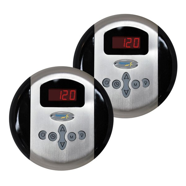 SteamSpa Programmable Dual Control Panels by Steam Spa