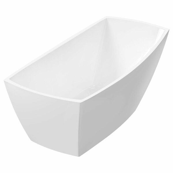 Freestanding 67 x 31 Bathtub by LessCare