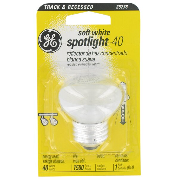 40W 120-Volt Light Bulb by GE