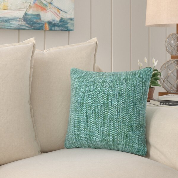 Hood Deep Sea Outdoor Throw Pillow by Longshore Tides