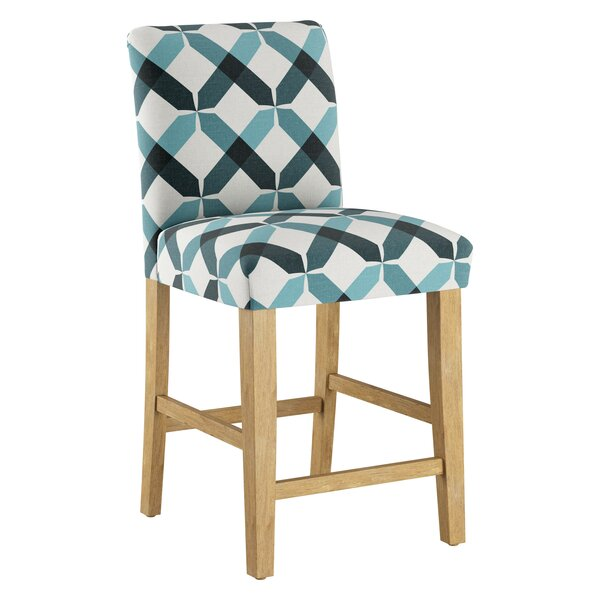 Dugas Counter 26'' Bar Stool By Highland Dunes