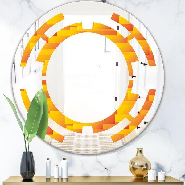 Space Design VIII Modern Frameless Wall Mirror