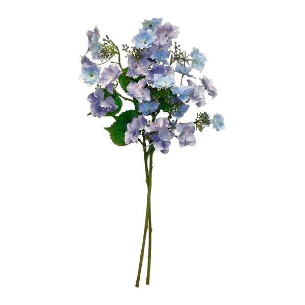 Trellis Hydrangea Stem (Set of 2) by Charlton Home