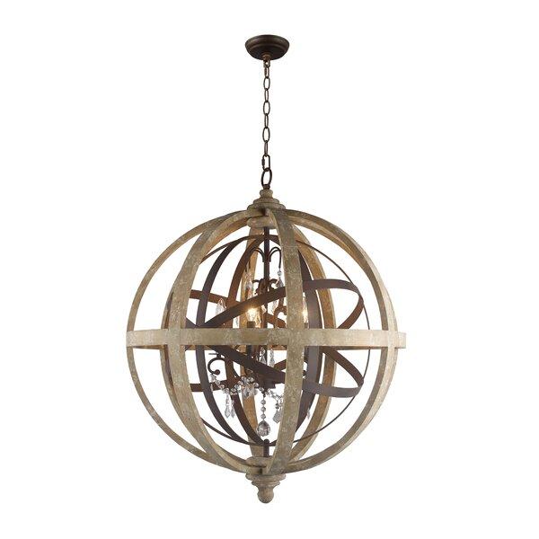 Celestyna 5-Light Globe Chandelier by Gracie Oaks