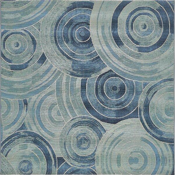 Ronda Light Blue Indoor/Indoor/Outdoor Area Rug by Ebern Designs
