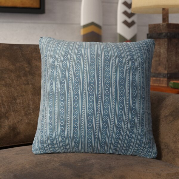 Couturier Square Throw Pillow with Zipper by Mistana