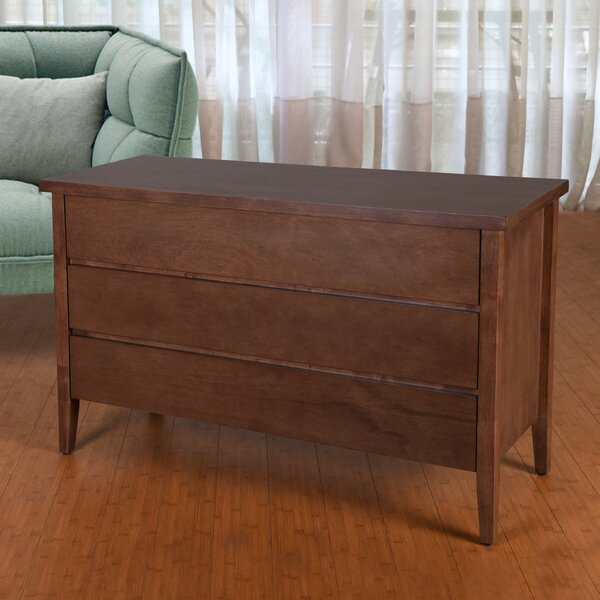 Bohostice 3 Drawer Chest by Latitude Run