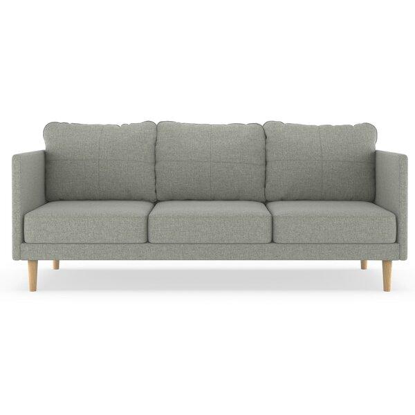 Petit Linen Weave Sofa By Brayden Studio