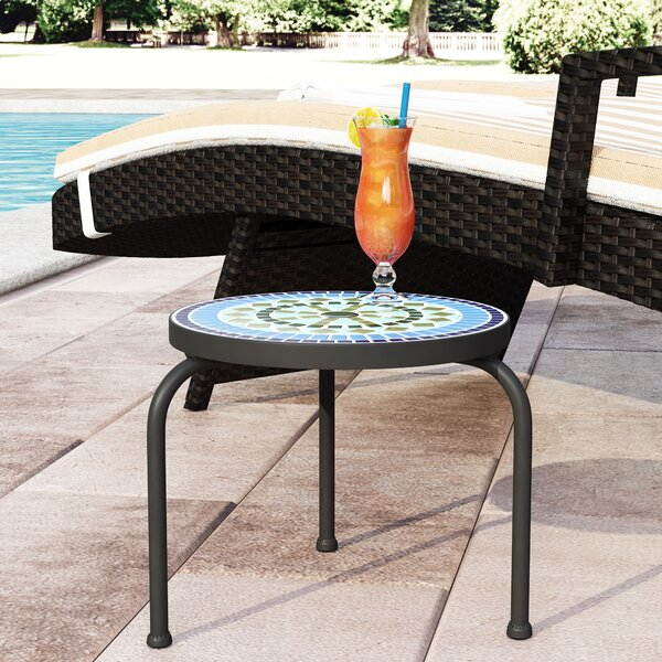 Sebago Outdoor Side Table by Charlton Home