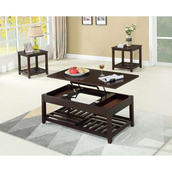 Rockville 3 Piece Coffee Table Set By Canora Grey