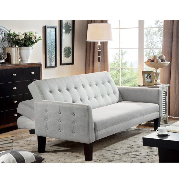 Muscogee Convertible Sofa by Winston Porter Winston Porter