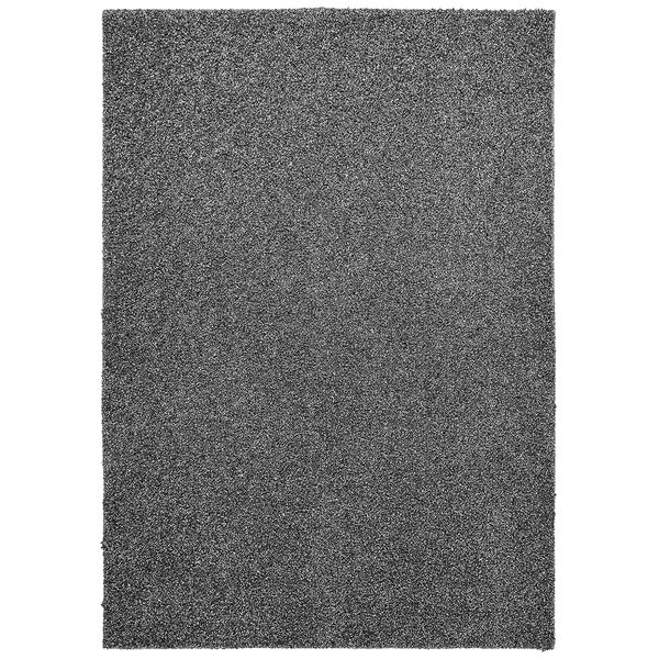 Vanessa Hand-Tufted Dark Silver Area Rug by Threadbind