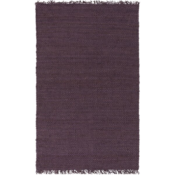 Pineda Hand Woven Purple Area Rug by World Menagerie