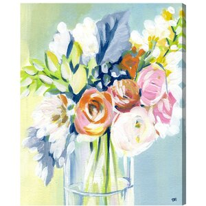 Wednesday Favorites Painting Print on Wrapped Canvas by House of Hampton