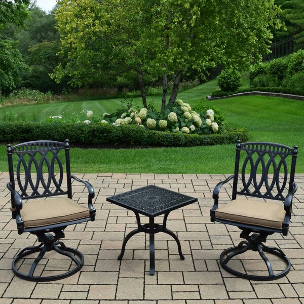 Lostant 3 Piece Conversation Set with Cushions by Alcott Hill