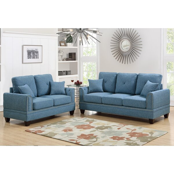 Compare prices Findlay 2 Piece Living Room Set by Charlton Home