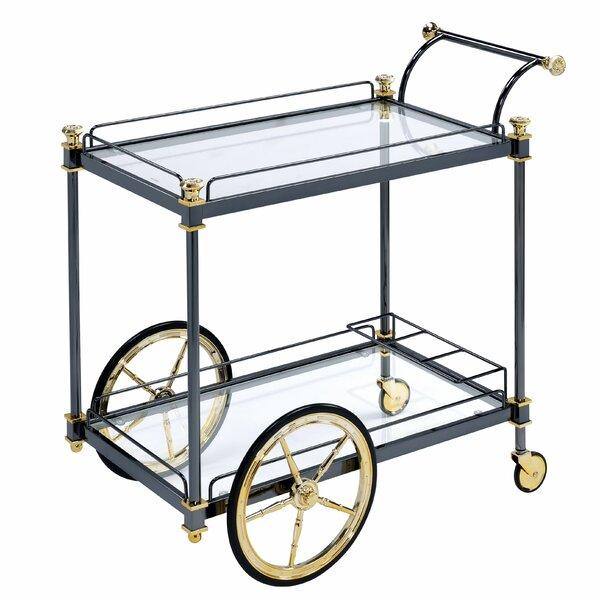 Hennessey Bar Cart by Everly Quinn Everly Quinn