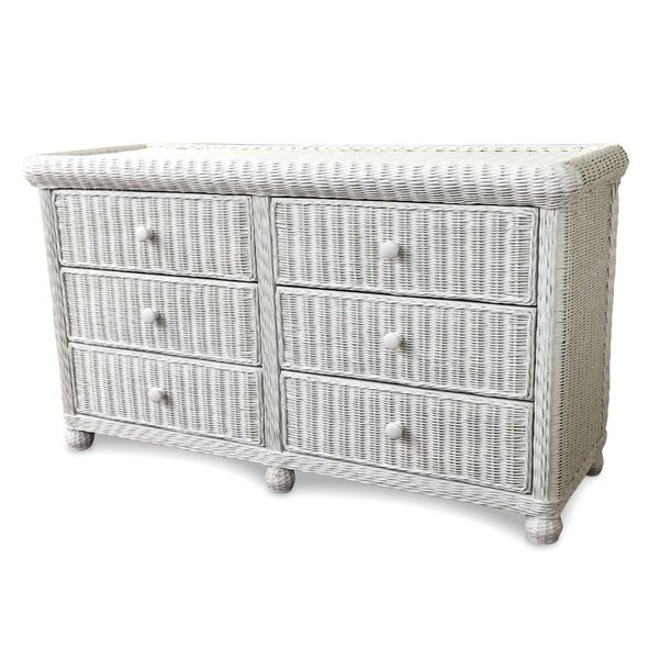 Watkins 6 Drawer Double Dresser by Bay Isle Home