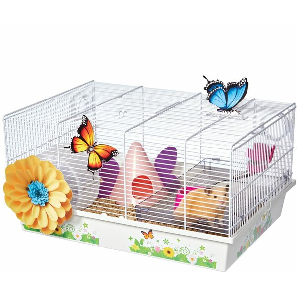 Critterville Butterfly Hamster Cage by Midwest Homes For Pets