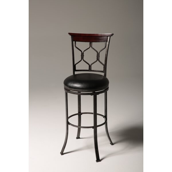 Purcell 30 Swivel Bar Stool by Darby Home Co