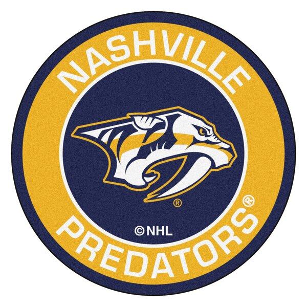 NHL Nashville Predators Roundel Mat by FANMATS