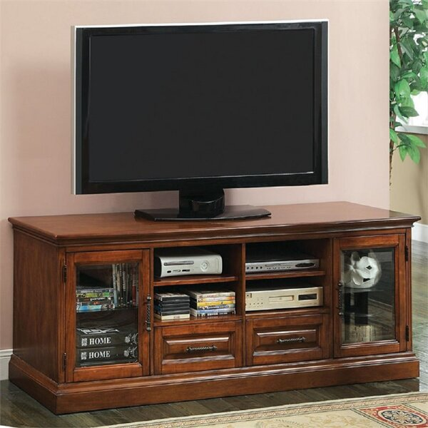 Braley Solid Wood TV Stand For TVs Up To 80