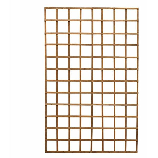 Wood Lattice Panel Trellis by Diamond Teak