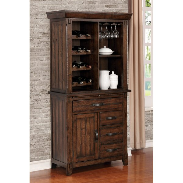 Herbert Wine Bar Cabinet by Loon Peak