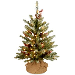 Flocked Christmas Trees You'll Love Wayfair - Vintage Artificial Christmas Trees