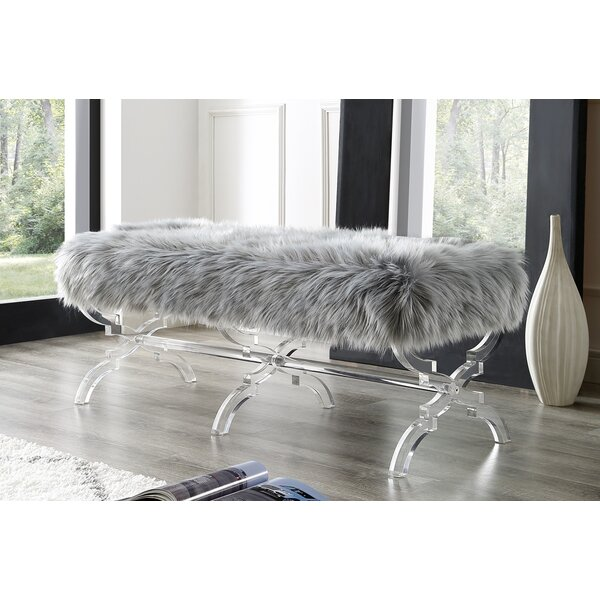 Sagamore Upholstered Bench by Rosdorf Park