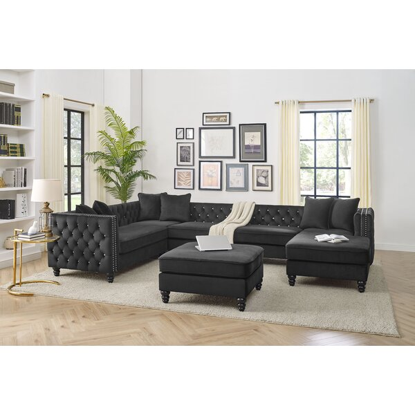 Igikpak Right Hand Facing Sectional With Ottoman By Charlton Home